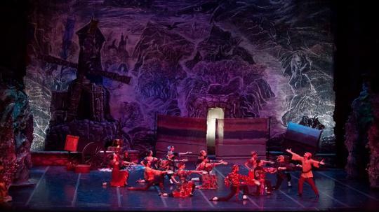 "Балетот ""Дон Кихот"" на сцената на МОБ"