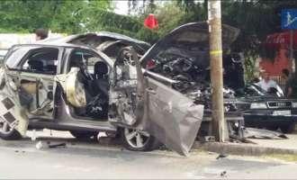 Убиецот на навивачот на Црвена Звезда остана без нозе во експлозија