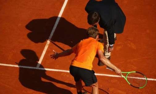 Судијата го оштети Гофан, Надал 11-ти пат финалист во Монте Карло