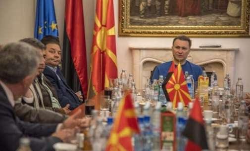 Груевски на средба со коалициските партнери