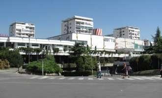 Град Скопје: Пред ГТЦ се исечени исушени грмушки, а не дрвја