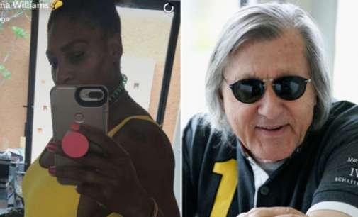 Обвинет за расизам: Настасе ја коментираше бременоста на Серена Вилијамс