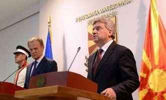 Иванов не го менува својот став за решавањето на кризата, Туск очекува лидерство и државништво