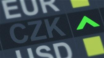 Чешката централна банка го укина минималниот курс на круната кон еврото