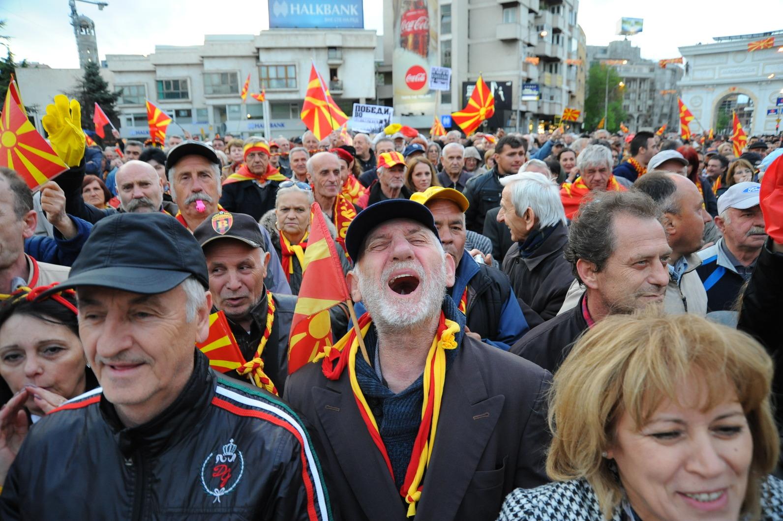 Граѓанската иницијатива  За заедничка Македонија  излезе со свое решение за кризата   нови избори