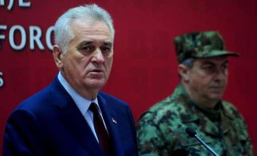 Николиќ: Не треба да ни се закануваат со оружје, Србија е подготвена да се одбрани