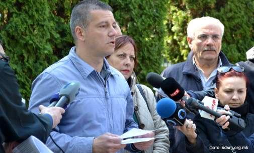 Манчевски: Контрадикторно е да бараш нови избори без избран претседател на Собрание