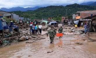 Колумбија: Најмалку 154 загинати во свлечишта и поплави