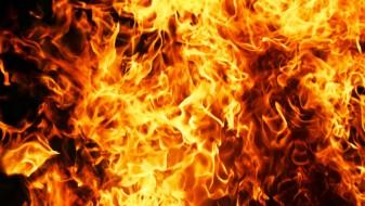 Голем пожар во Карпош
