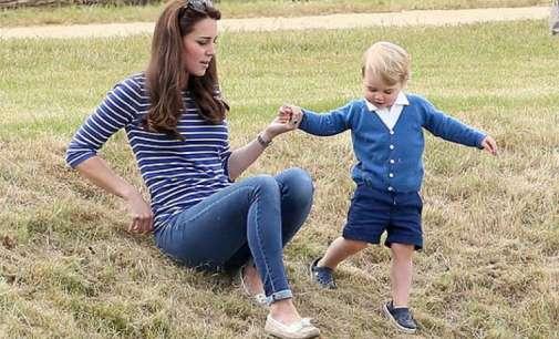Принцот Џорџ тргнува во училиште и не смее да има еден најдобар пријател