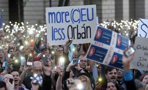Антируски протести во Будимпешта