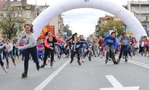 Ролерската трка по шести пат низ улиците на Скопје