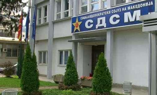 СДСМ: Груевски ги жртвува граѓаните и државата, мнозинството мора да го спречи!