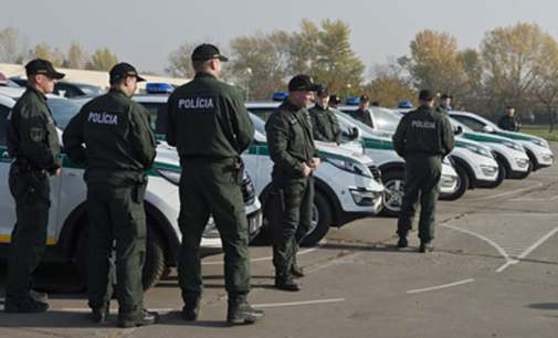 Пристигна седмата ротација на словачки полицајци кои ќе патролираат по јужната граница