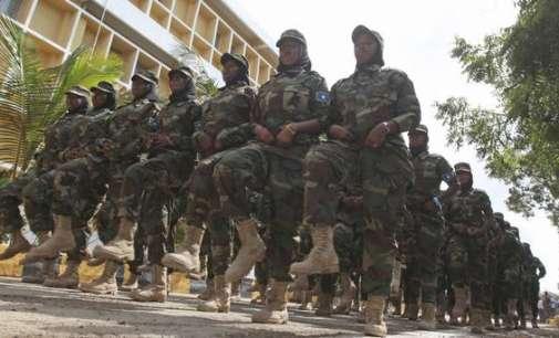 Осум војници загинаа во експлозија на бомба во Сомалија