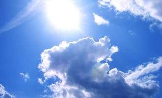 Сончево со мала до умерена облачност и топло