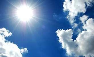 Стабилизирање на времето со пораст на дневната температура