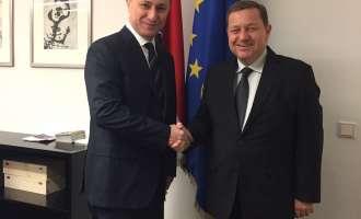 Груевски се сретна со Вернер Амон од Австриската народна партија