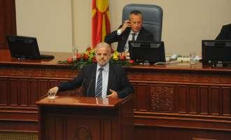Талат Џафери одржа лекција во Собрание  – Собранието нема да го носам ниту во Приштина, ниту во Тирана или Тунгузија