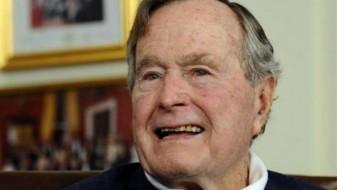 Буш постариот повторно во болница