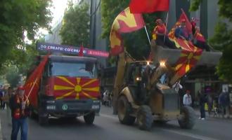 """Според Мијалковски, протестите на """"За заедничка Македонија"""" вродиле со плод"""