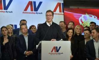 Вучиќ победи на претседателските избори во Србија