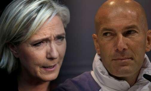 Ле Пен го критикуваше Зидан