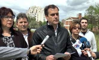 Марин: Камчев сака да гради кај Мајчин дом, нема да дозволиме богатење на сметка на здравјето на граѓаните