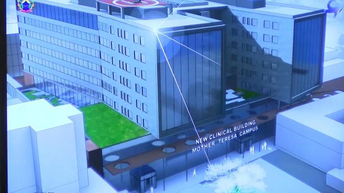 """Потпишан договорот за изградба на новиот Клинички центар """"Мајка Тереза"""" (видео)"""