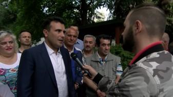 Заев за Макфакс: Веднаш почнувам со средби со коалициските партнери, час поскоро ќе има влада (ВИДЕО)