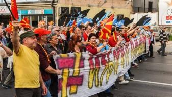 """Ќе продолжи ли """"За заедничка Македонија"""" со протестите?!"""