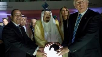 """Ел Сиси, Салман и Трамп – """"магионичари околу магична топка"""""""