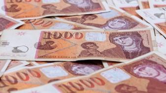 Просечната нето-плата во Македонија е 22.445 денари