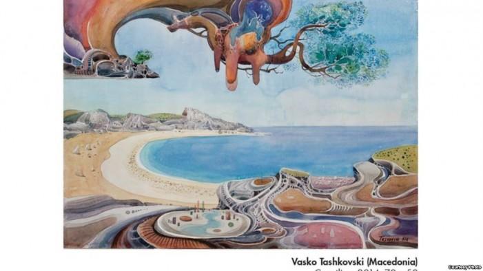 Монографија за акварелите на Васко Ташковски
