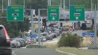 Прекин на сообраќајот кон Грција поради штрајк на грчките цариници