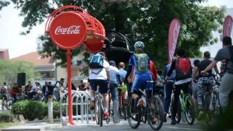 Кока-Кола донира пет паркиралишта за велосипеди