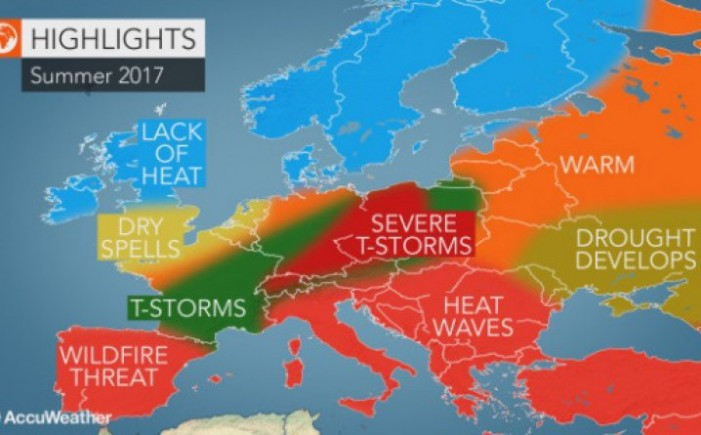 Се прогнозира долго и екстремно жешко лето