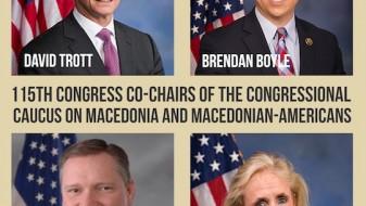 ОМД: Дејствувањето на Конгресната Група за Македонија е од витално значење за зацврстување на американско-македонските односи