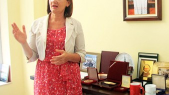 Одликување за заслуги во правосудството за Анета Арнаудовска