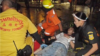 Бомбашки напад врз воена болница во Бангкок