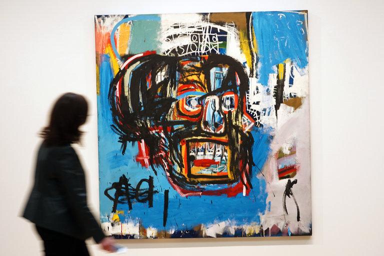 Слика на Баскијат продадена на аукција за 110 5 милиони долари