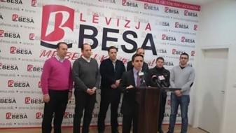 Движење БЕСА: Остануваме посветени во решавањето на кризата