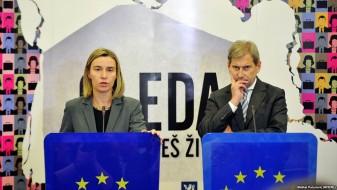 Могерини и Хан: Очекуваме брзо формирање влада и крај на кризата