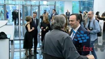 (ВИДЕО) Цело раководство на ВМРО ДПМНЕ во новиот објект на Филхармонија