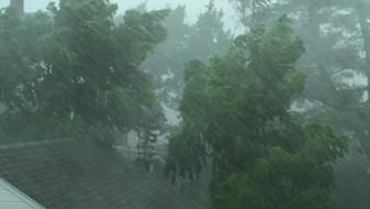 УХРМ најавува пороен дожд, ветер и град