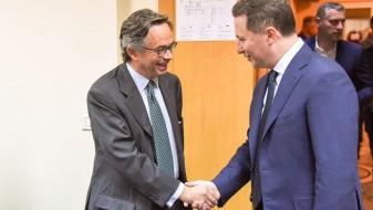 Груевски се сретнал со претставници на ОБСЕ