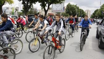 """Традиционалната велосипедска трка """"Сите на велосипед"""" се одржа во Прилеп"""