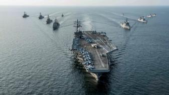 """Тензиите растат: """"Роналд Реган"""" плови кон Кореја"""