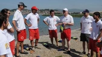 Обука за спасители на отворени води