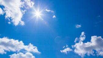 Сончево и топло со мала облачност